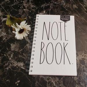 Rae Dunn Spiral Notebook NEW!